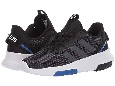 adidas Kids Racer TR 2.0 (Little Kid/Big Kid) (Core Black/Grey Six/Team Royal Blue) Boys Shoes