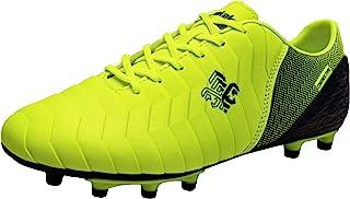 Zapatillas de fútbol Niños FG/TF Profesionales Zapatos de fútbol Aire Libre Atletismo Calzado de Entrenamiento Zapatos de fútbol Unisex Antideslizante Botas de fútbol para Niños