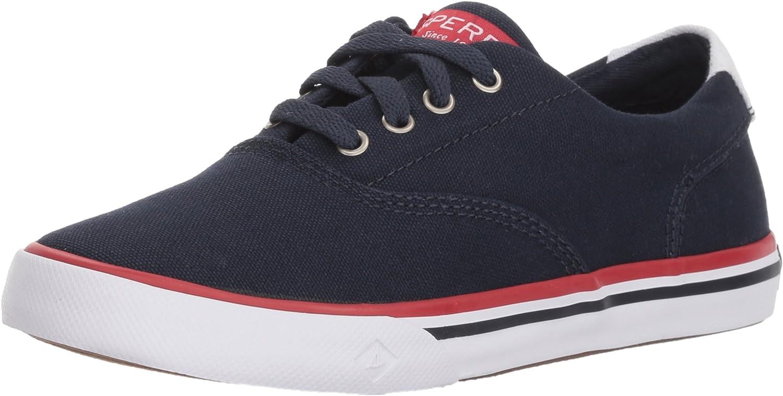 Sperry NEW before selling Unisex-Child Striper Sneaker Ii Grey specialty shop