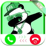 Instant Real Video Live Call From Dabbing Panda Funny - Free Fake Phone Calls And Free Fake Text Message ID PRO 2020