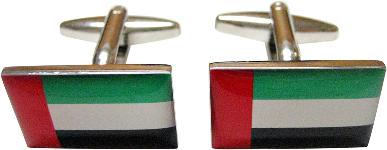 Kiola Designs United Arab Emirates UAE Flag Cufflinks
