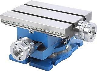 Mesa de trabajo multifunción giratoria, para fresadora y taladradora, mesa deslizante compuesta de herramientas industriales,