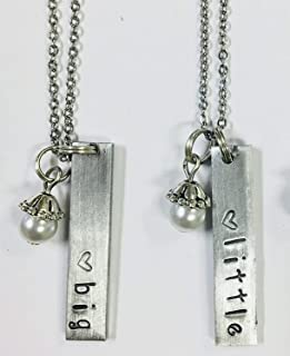 sorority necklace pendants