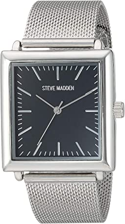 Square Case Men Alloy Band Watch SMW188