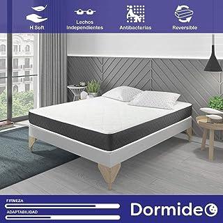 comprar comparacion DORMIDEO Visco Basic - Colchón Viscoelástico, Higiénico y Transpirable 80x200