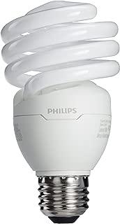 Philips 417097 Energy Saver 23-Watt 100W Soft White CFL Light Bulb, 4-Pack