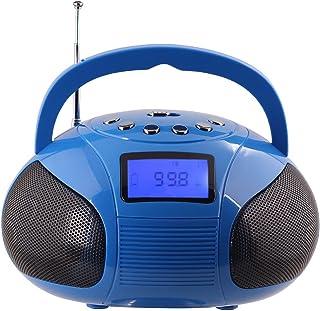 英国品牌 August 奥科斯 SE20 蓝牙音响 电脑音箱 低音炮 便携迷你户外插卡U盘 FM收音机 播放器 闹钟 时钟功能