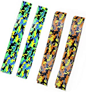MFEI 4 pcs Tennis Overgrip Tapes, Hand Print Overgrip, Absorb Moisture and Anti-Slip Overgrip Grips Tape Perfect for Tennis Racket, Racquetball Grip, Squash Racquet