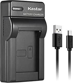 Kastar Slim USB Charger for Panasonic VW-VBG070, VW-VBG130, VWVBG260 Battery and Panasonic SDR-H40, SDR-H80 Series, HDC-HS700, TM700, HS300, TM300, HS250, SD20, HS20, HDC-SDT750 Camcorders etc.