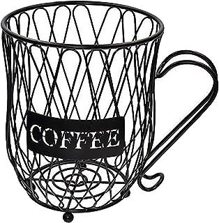 Baoblaze Support de stockage de Pod de café expresso moderne, panier d'organisateur multi-usage pour le comptoir de l'armo...