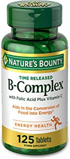 Nature's Bounty Time Release B-Complex plus Vitamin C