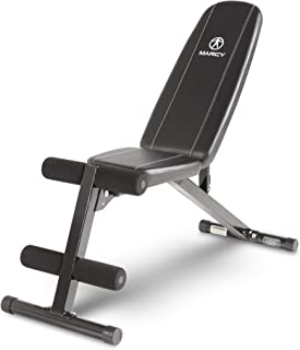 Marcy Multi-Position Workout Utility Bench for Home Gym Weightlifting and Strength Training SB-10115 (Renewed)