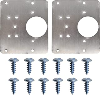 2 Stks Kast Scharnier Reparatieplaat, Kast Scharnier Reparatie Beugels Keuken Deur Scharnier Montageplaat Roestvrij Staal ...