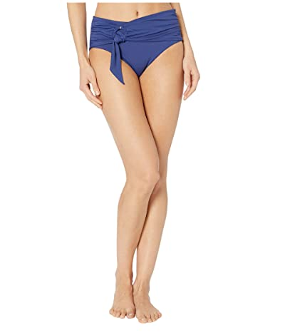Seafolly Active Wide Side Retro Bikini Bottoms (Blue Opal) Women