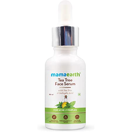 Mamaearth Tea Tree Face Serum for Acne Prone skin With Tea Tree & Salicylic Acid For Acne & Pimples – 30 ml