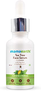 Mamaearth Tea Tree Face Serum for Acne Prone skin With Tea Tree & Salicylic Acid For Acne & Pimples – 30 ml
