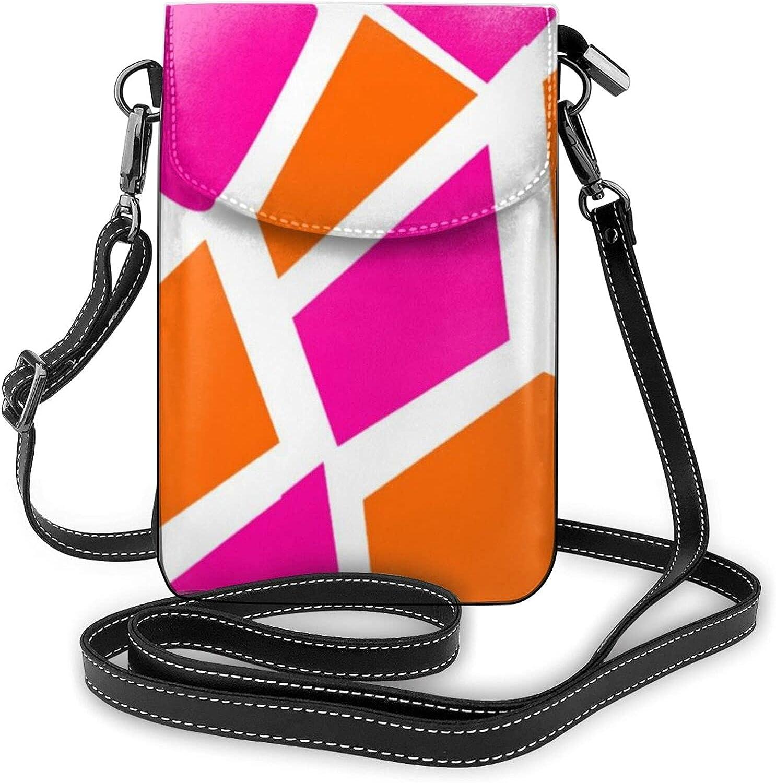 Lightweight PU 5 ☆ very popular Leather Handbag Small Crossbody Mini Bag famous Pho Cell