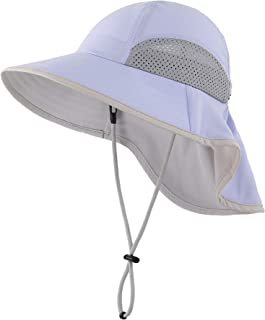 Sponsored Ad - Connectyle Kid's Breathable UV Sun Protection Beach Hat with Neck Flap Play Hat