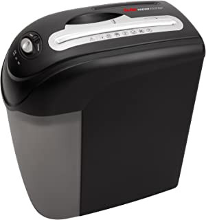 comprar comparacion Geha X10 CD Style - Destructora (corte en partículas, para 10 hojas de papel, destruye CD/DVD/tarjeta de crédito/clips, 19...