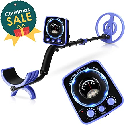 INTEY Metal Detector Beginner High Accuracy Waterproof GC-1065 Metal Detectors Suitable Adults Kids Adjustable