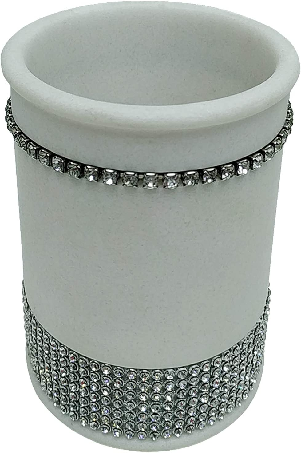 Popular Bath 942408 Now Max 62% OFF on sale Silver-White Tumbler
