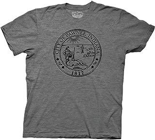 Ripple Junction Parks & Recreation Adult Unisex Pawnee Seal Light Weight Crew T-Shirt