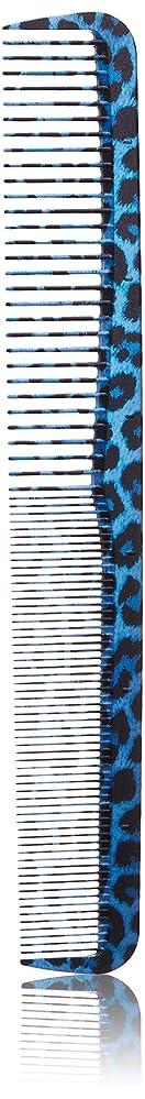 批判する広々破滅植原セル アートデルリンレオパードシリーズ カットコームS ブルー