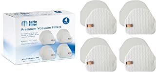Fette Filter - Vacuum Filters Compatible with Shark Professional Upright Models NV450 (Pack of 4)