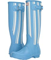 Original Garden Stripe Tall Rain Boots