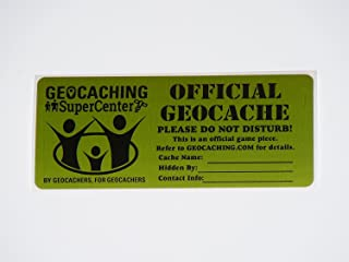 Shopgsc Official Geocache Sticker - Small - 5 Pack