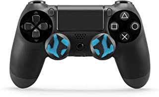 Skywin Performance Thumb Grips Compatible with PS4 Controller provide effortless griping for Large, Weak, or Arthritic han...