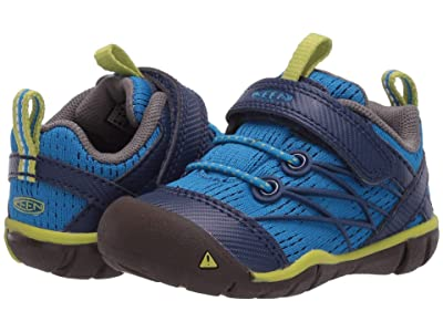 KEEN Kids Chandler CNX (Toddler) (Brilliant Blue/Blue Depths) Boys Shoes