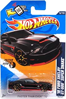 2012 Hot Wheels Faster Than Ever '10 Ford Shelby GT-500 Super Snake 5/10 - 95/247.