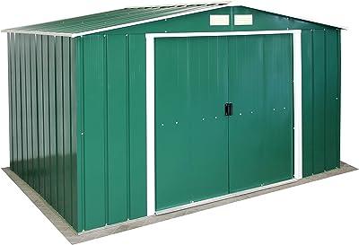 TecTake Cobertizo caseta de jardín metálica de Metal ...