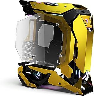 Caja Pc Gamer Caja De Juegos Caja De Computadora ATX De Torre Completa, Panel Lateral De Vidrio Templado - Preparado Para ...
