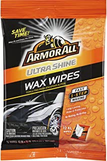 Armor All Ultra Shine Wax Wipes (12 count) (Case of 6)