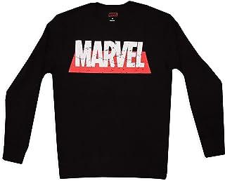 MARVEL Men's Jumper Sweatshirt Long Sleeves 100% Cotton