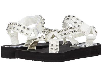 Steve Madden Henley-R Sport Sandal (White) Women