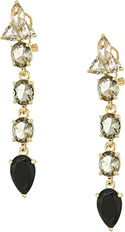 Vince Camuto Stone Linear Earrings