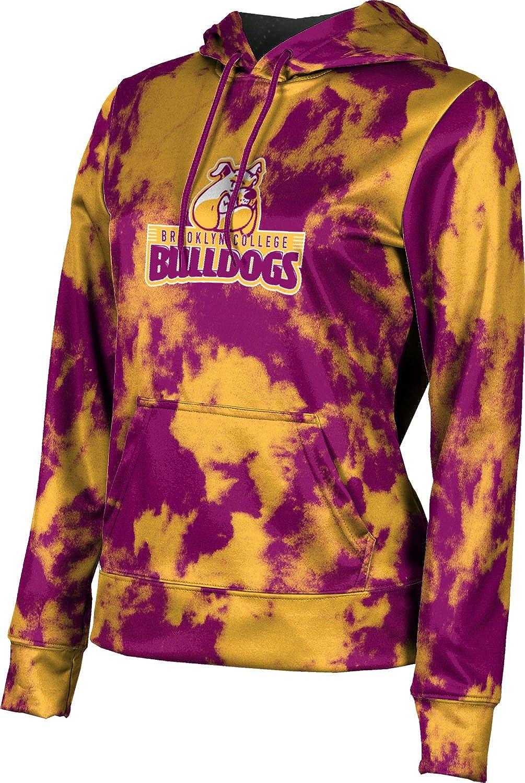 ProSphere Brooklyn College Girls' Pullover Hoodie, School Spirit Sweatshirt (Grunge)
