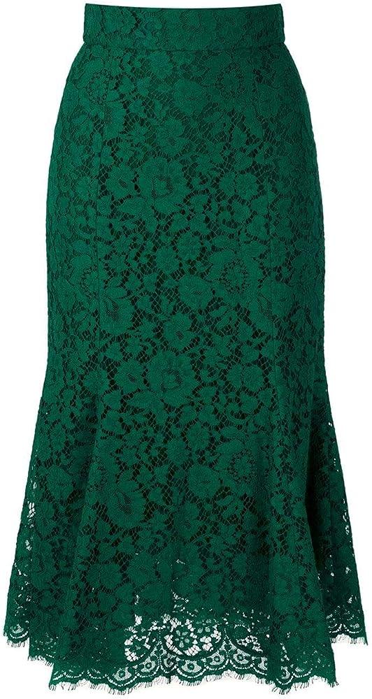 Dolce & gabbana luxury fashion,gonna per donna,in 37% cotone, 37% poliammide, 26% viscosa,taglia 40 eu F4BT8THLMIJV0237