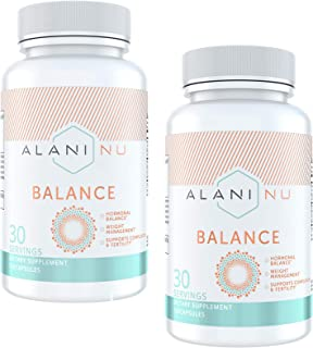 Alani Nu Hormonal Balance, PCOS, Weight Management Support, Skin Complexion Support, 120 Capsules