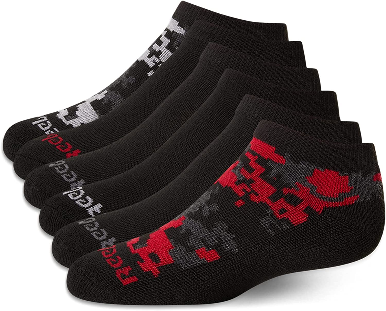 Reebok Boys Cushion Comfort Low Cut Basic Socks (6 Pack)