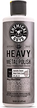 Chemical Guys SPI_402_16, Heavy Metal Polish Restorer and Protectant, 16 Ounce: image
