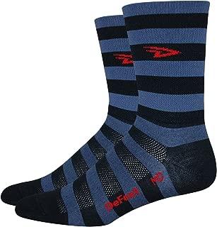 DeFeet Aireator Striper Cuff Socks