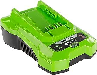 Greenworks batteriladdare G40C (Li-Ion 40V 2A 60 min laddningstid vid 2Ah lämplig för alla batterier i 40 V Greenworks Too...