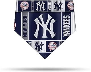 Sparo New York Yankees Dog Cat Bandana Over Collar Large