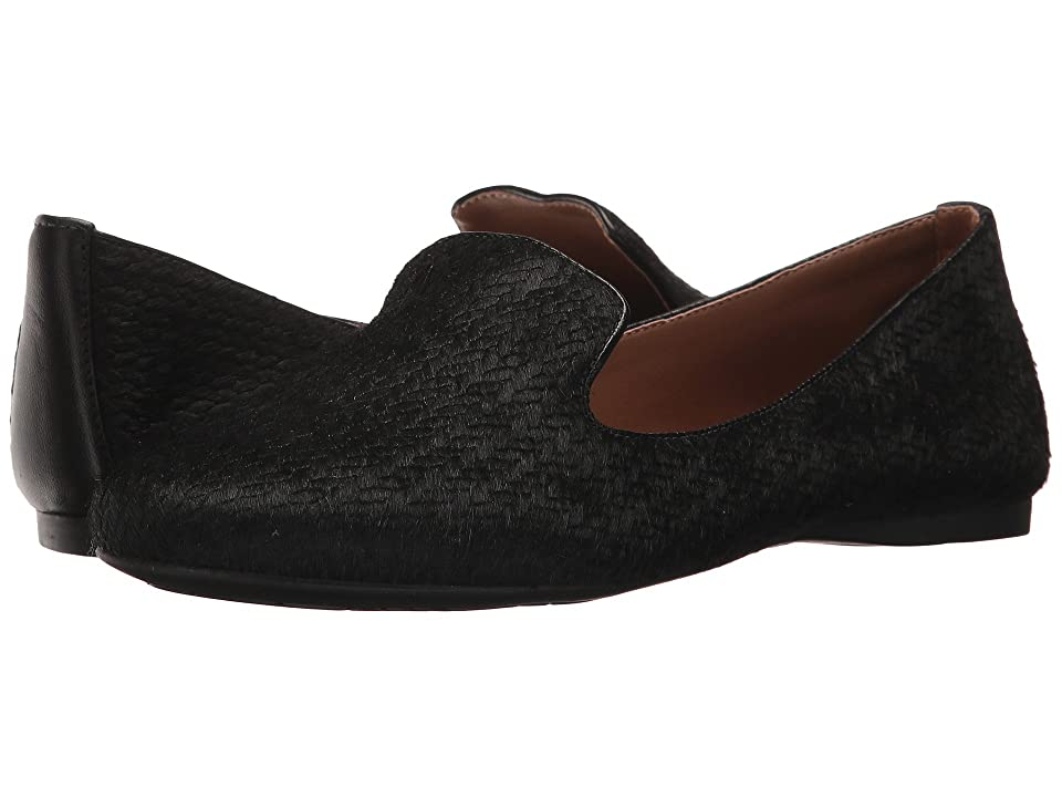 French Sole Gaga (Black Braided Haircalf) Women