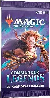 Booster de Draft de Magic: The Gathering Commander Legends   20 Cards   Produto em Português