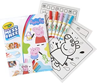 Crayola Color Wonder Peppa Pig Colouring Book